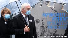 Steinmeier commemorates the Oktoberfest attack (Christof Stache/AFP)