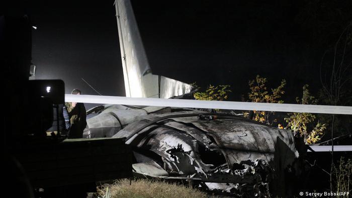 На місці падіння літака Ан-26 поблизу Чугуєва
