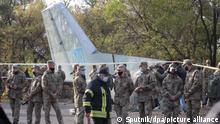 Ukraine | Absturz Militärflugzeug AN-26