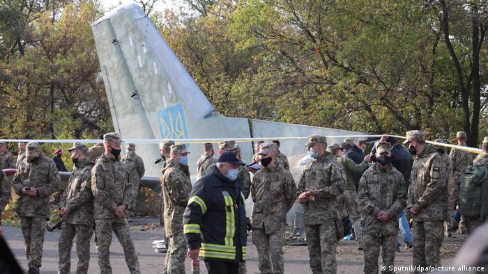 На місці катастрофи літака Ан-26 Збройних сил України, 26 вересня 2020 року