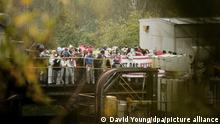 Aktionen am Tagebau Garzweiler