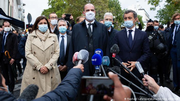Frankreich I Pressekonferenz nach Messerattacke in Paris
