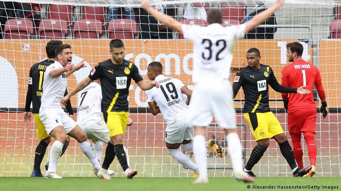 Augsburg - Dortmund.