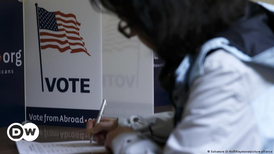 Us Election 2020 For Americans Abroad Election Day Is Already Here World Breaking News And Perspectives From Around The Globe Dw 25 09 2020