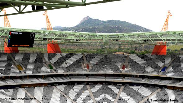 Innenansicht des Mbombela-Stadions in Nelspruit (Foto: South Africa Tourism)