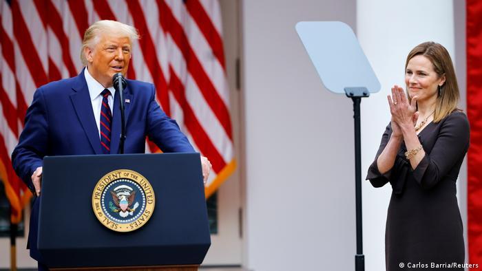 Washington Trump nominiert Barrett als Supreme Court Richterin (Carlos Barria/Reuters)
