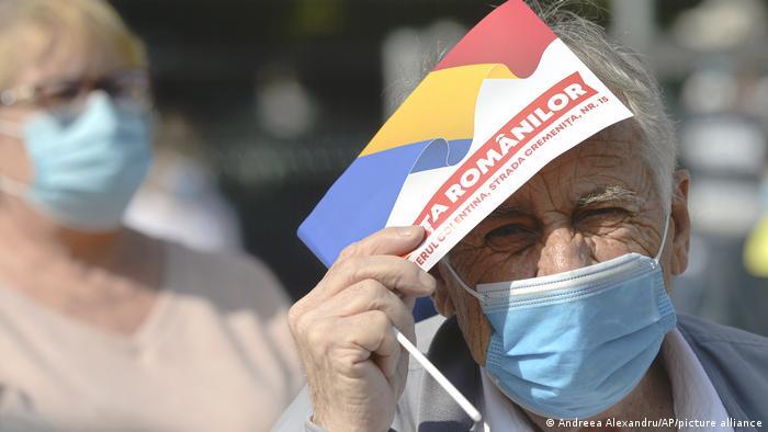 Bucureştiul figurează de mai multă vreme pe lista regiunilor de risc (Andreea Alexandru/AP/picture alliance)