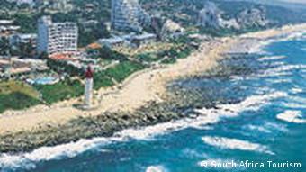 Durban mit Umhlanga Rocks (Foto: Soth Africa Tourism)