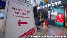 Coronavirus Bayern | München Testcenter am Hauptbahnhof