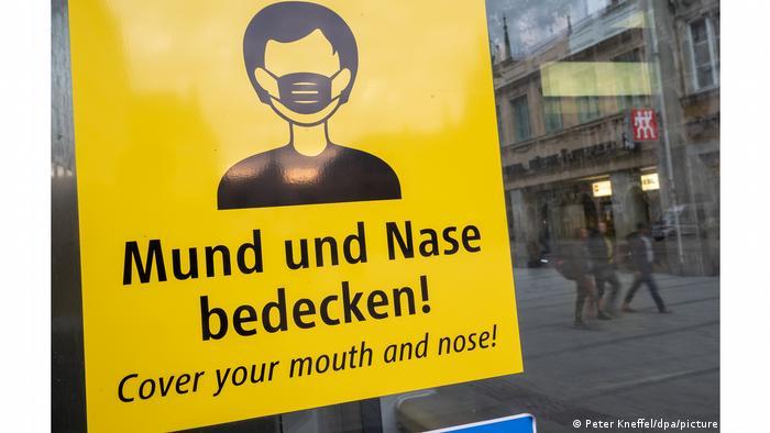 Măsuri anti-coronavirus în capitala Bavariei (Peter Kneffel/dpa/picture alliance)