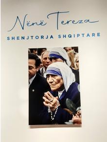 Albanien | Mutter Teresa | Ausstellungsplakat