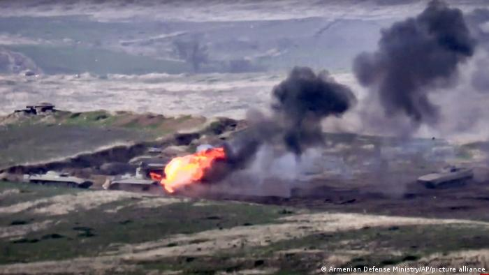 Бой на линии соприкосновения Нагорного Карабаха и Азербайджана 27 сентября 2020 года