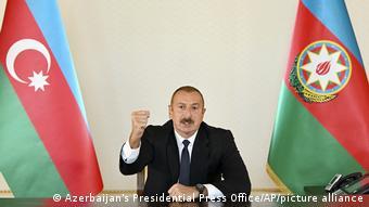 Президент Азербайджана Гейдар Алиев выступил с телеобращением