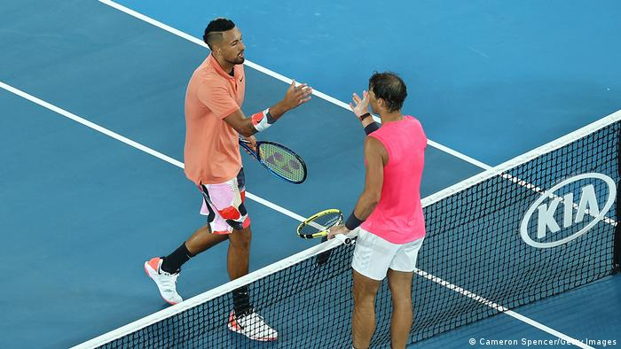 Australien Melbourne | Australian Open 2020 | Kyrgios ud Nadal (Cameron Spencer/Getty Images)