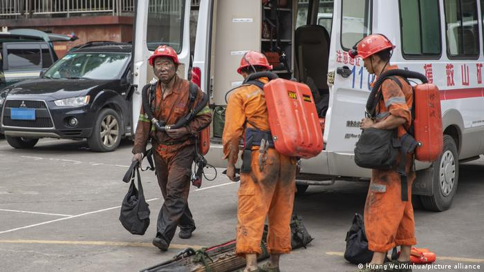 Grubenunglück in China Chongqing