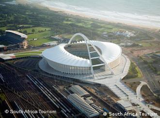Das Moses-Mabhida Stadion in Durban (Foto: South Africa Tourism)