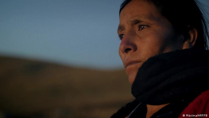 Human Rights Film Festival Berlin: image from the film Máxima - a woman's sorrowful face (Máxima/HRFFB)