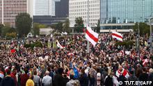 Weißrussland Minsk | Proteste gegen die Regierung Lukashenkos