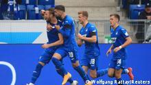 Deutschland Sinsheim | Bundesliga | Tor für TSG 1899 Hoffenheim