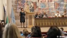 Tsveta Karayancheva   bulgarische Parlamentspräsidentin