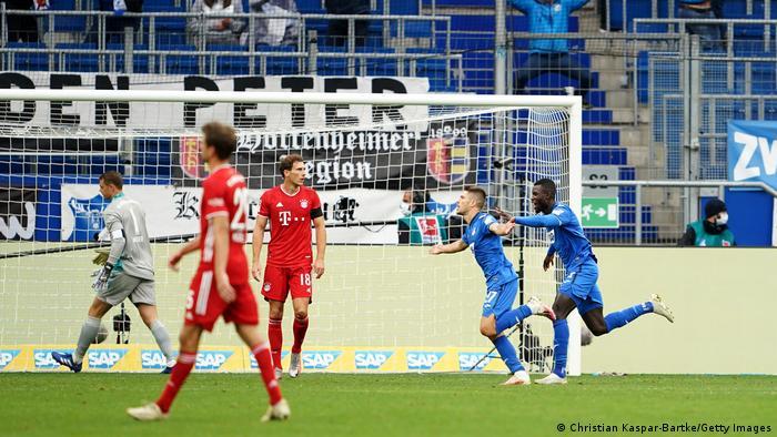 Bayern Munich were left chasing the game against Hoffenheim, again