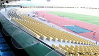 Das Royal-Bafokeng- Stadion in Rustenburg (Foto: dpa)