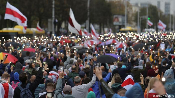 Weißrussland Minsk | Proteste gegen die Regierung Lukashenkos (TUT.BY/Reuters)