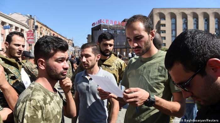 Regrutacija dobrovoljaca u Jerevanu