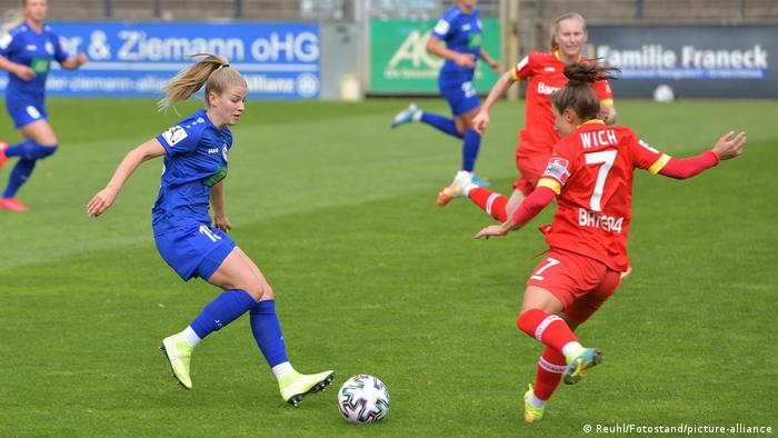 Turbine Potsdam and Bayer Leverkusen are two teams doing their best to survive in the Women's Bundesliga