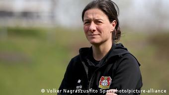Former Leverkusen head coach Verena Hagedorn