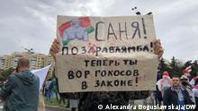 Weißrussland |Proteste gegen die Regierung