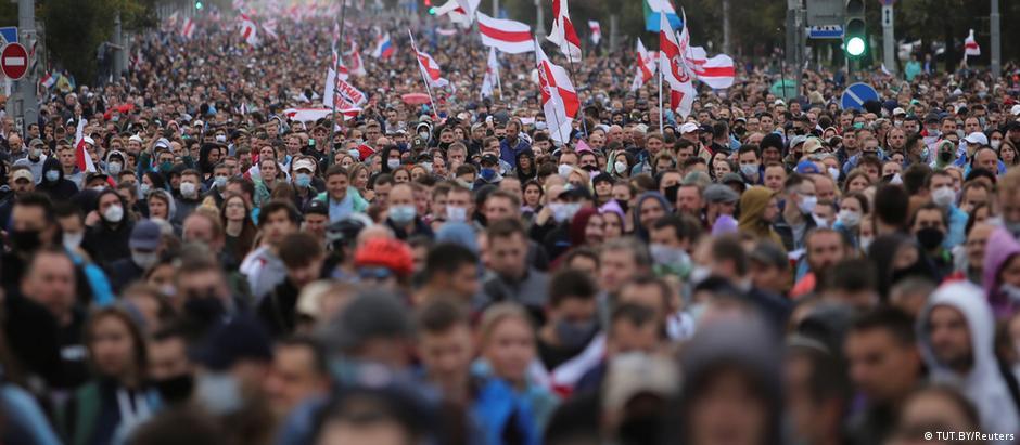 Weißrussland | Proteste gegen die Regierung (TUT.BY/Reuters)