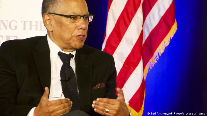 USA | New York Times Chefredakteur Dean Baquet (Ted Anthony/AP Photo/picture-alliance)