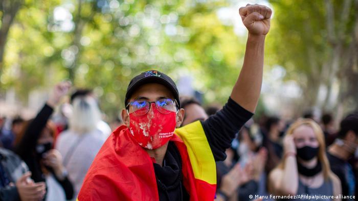 Spanien Coronavirus Protest