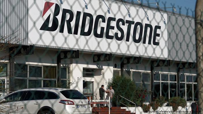Bridgestone plant in Bethune, Northern France