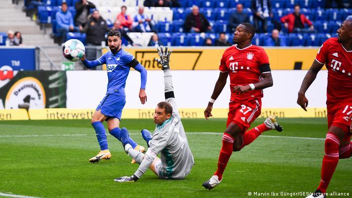 Fußball Bundesliga TSG Hoffenheim - FC Bayern München (Marvin Ibo Güngör/GES/picture-alliance)