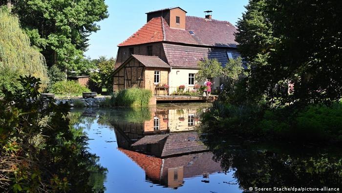 Кановская мельница в Шпревальде (Бранденбург)