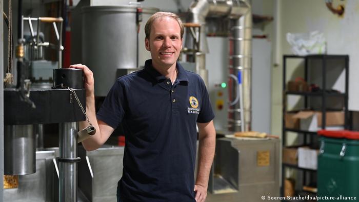 Кристиан Берендт (Christian Behrendt) - директор семейного предприятия и мельник в седьмом поколении