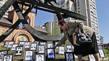 Ukraine Jahrestag Gedenken an Tschernobyl Katastrophe vor 24 Jahren