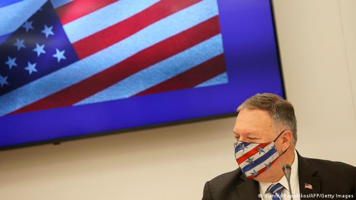 US-Außenminister Mike Pompeo in Griechenland I Thessaloniki (Giannis Papanikos/AFP/Getty Images)