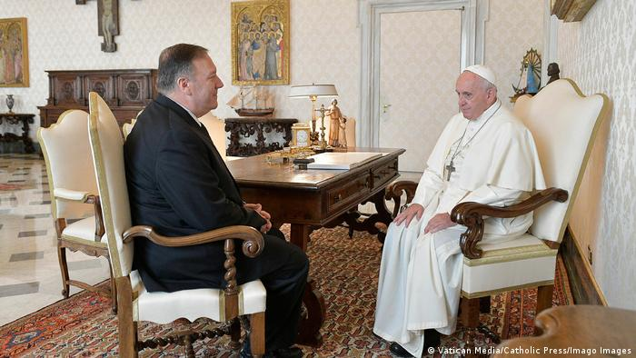 US-Außenminister Mike Pompeo trifft Papst Franziskus
