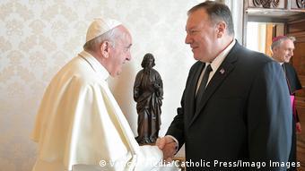 Το τελευταίο τετ-α-τετ του Πάπα με τον Πομπέο ήταν τον Οκτώβριο του 2019