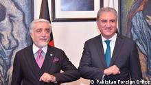 Abdullah Abdullah besucht Pakistan