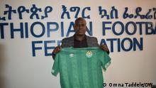 Der neu ernannte Trainer der äthiopischen Fußballnationalmannschaft, Wubetu Abate in Addis Ababa, Ethiopia, Äthiopien, 28.09. 2020