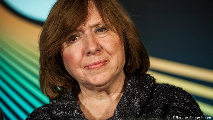 Светлана Алексиевич, белорусская писательница, нобелевский лауреат по литературе