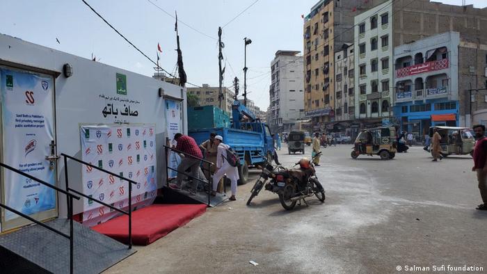 Pakistan Karachi | Öffentliche Toilette
