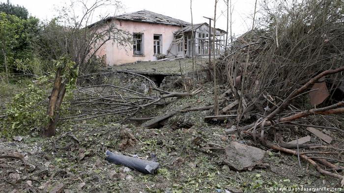 Aserbaidschan Konflikt um Berg-Karabach (Hayk Baghdasaryan/Reuters)