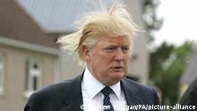USA Donald Trump Frisur