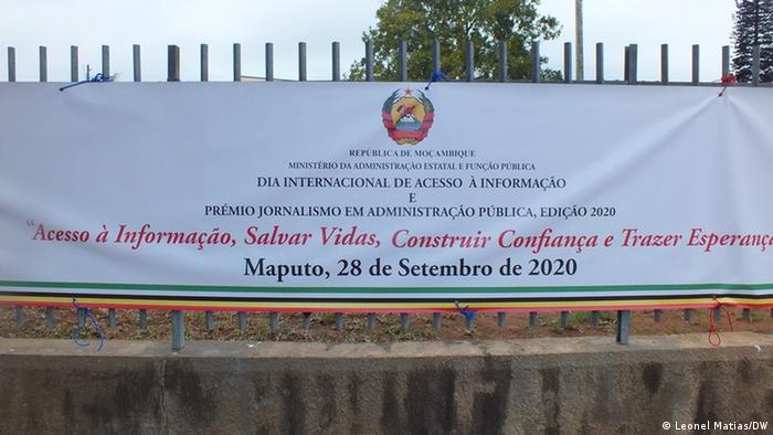 Mosambik Internationale Tag des allgemeinen Informationszugangs