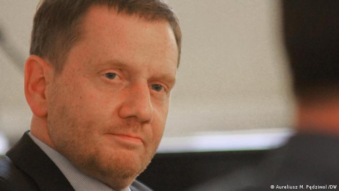 Verhängt im Advent einen harten Lockdown über Sachsen: Ministerpräsident Kretschmer